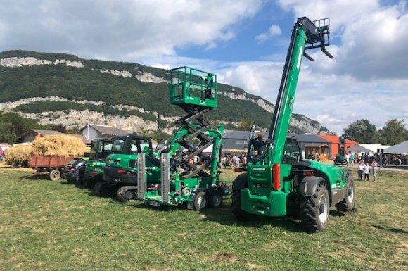 Chariot et élévation Annecy